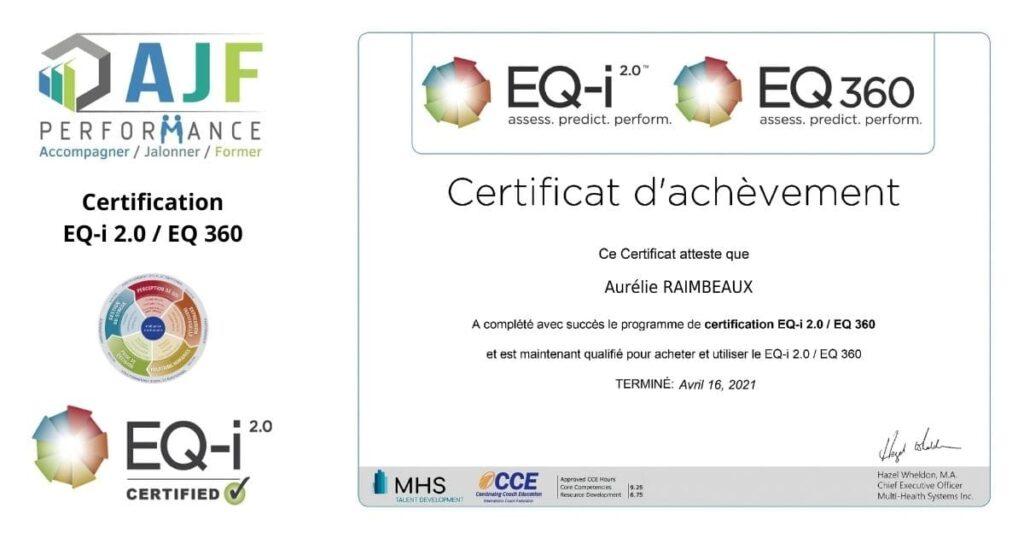 Certification EQ-i 2.0 / EQ 360